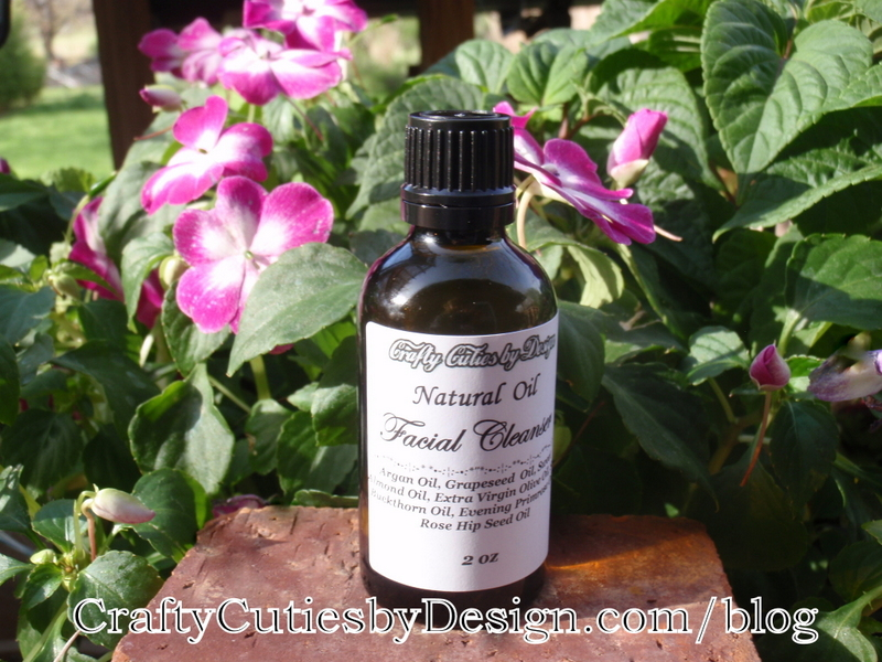 Facial Oil Cleanser with Impatiens Flowers